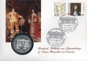 B-0923 • Friedrich Wilhelm von Brandenburg & Luise