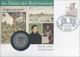 B-0983 • Martin Luther und Hans Sachs