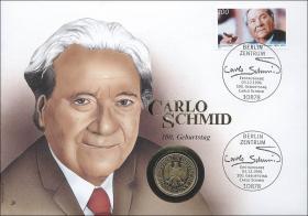 B-0989 • Carlo Schmid - 100. Geburtstag