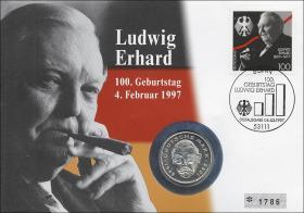 B-1012 • Ludwig Erhard - 100. Geburtstag