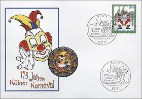 B-1020 • 175 J. Kölner Karneval (Medaille)