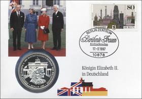 B-1027 • Königin Elizabeth II. in Deutschland