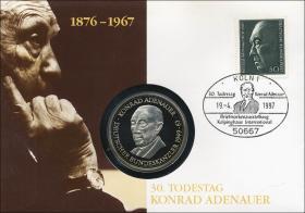 B-1036 • Konrad Adenauer - 30. Todestag