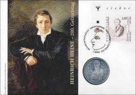 B-1088.b • Heinrich Heine >Erstausgabe mit Rune<