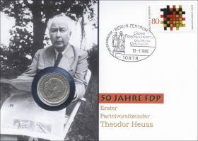 B-1105 • 50 Jahre FDP - Theodor Heuss