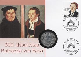 B-1207 • Katharina von Bora 500. Geburtstag