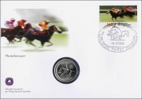 B-1257 • Pferde-Rennsport