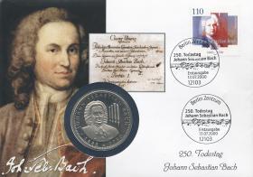 B-1334 • Johann Sebastian Bach, 250. Todestag