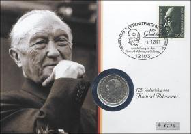 B-1362 • Konrad Adenauer, 125. Geburtstag