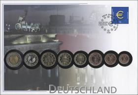 B-1421 • Deutschland > Euro-Einführung