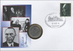 B-1453 • Konrad Adenauer
