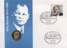 B-0782.b • Willy Brandt 1913 - 1992 > PP-Ausgabe