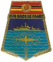 """B.0791 Abzeichen """"Für Große Fahrt"""""""
