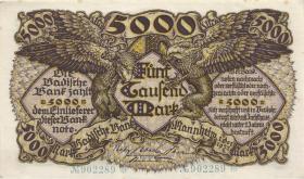 R-BAD 08a: 5000 Mark 1922 (1/1-)