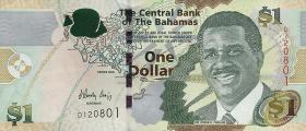 Bahamas P.71 1 Dollar 2008 (1)
