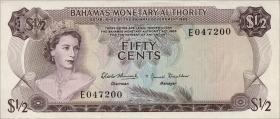 Bahamas P.26a 50 Cents 1968 (1)