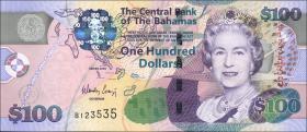 Bahamas P.76 100 Dollars 2009 (1)