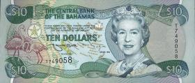 Bahamas P.59 10 Dollars 1996 (1)