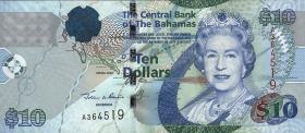 Bahamas P.73 10 Dollars 2005 (1)
