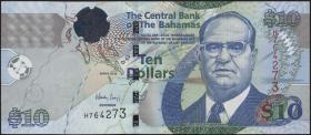 Bahamas P.73A 10 Dollars 2009 (1)