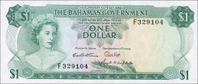 Bahamas P.18b 1 Dollar 1965 (1)