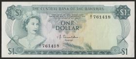Bahamas P.35a 1 Dollar L. 1974 (1)