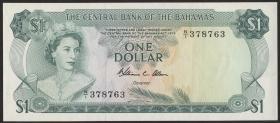 Bahamas P.35b 1 Dollar L. 1974 (1-)