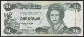 Bahamas P.57 1 Dollar 1996 (1)