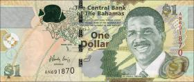 Bahamas P.71A 1 Dollar 2015 (1)