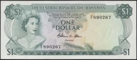 Bahamas P.35b 1 Dollar L. 1974 (1)