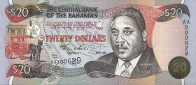 Bahamas P.65A 20 Dollars 2000 (1)