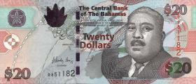 Bahamas P.74A 20 Dollars 2010 (1)