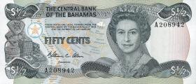 Bahamas P.42 50 Cents 1974 (1984) (1)