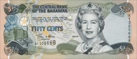 Bahamas P.68 50 Cents 2001 (1)