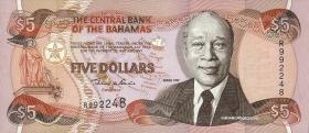Bahamas P.63a 5 Dollars 1997 (1)