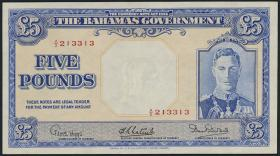 Bahamas P.12e 5 Pounds L.1936 (2+)