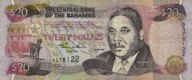 Bahamas P.65 20 Dollars 1997 (3)