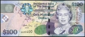 Bahamas P.76 100 Dollars 2009 (2+)