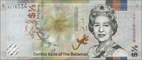 Bahamas P.neu 1/2 Dollar 2019 (1)