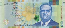 Bahamas P.neu 10 Dollars 2016 (1)