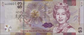 Bahamas P.neu 3 Dollars 2019 (1)