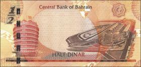 Bahrain P.25 1/2 Dinar (2006) (1)