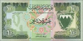 Bahrain P.09a 10 Dinars (1973) (2)