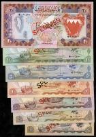 Bahrain P.CS1 100 Fils - 20 Dinars (1978) Specimen (1)