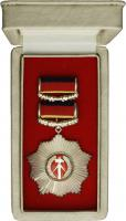 B.0004gU Vaterländischer Verdienst-Orden - Silber mit Urkunde