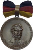 B.0129 Carl-Friedrich-Wander-Medaille Bronze mit Urkunde