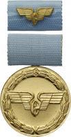 B.0157f Treue-Dienst-Medaille Reichsbahn Gold