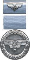B.0158f Treue-Dienst-Medaille Reichsbahn Silber