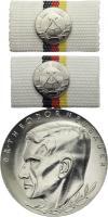 B.0177g Dr. Theodor Neubauer Medaille - Silber