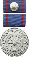 B.0197 Treue-Dienst-Medaille Seeverkehr Silber